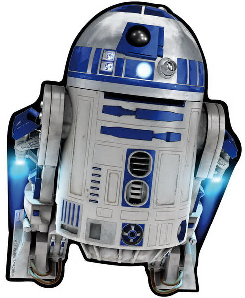 ALFOMBRILLA RATON STAR WARS R2D2