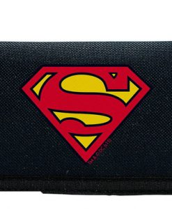CARTERA SUPERMAN LOGO CLÁSICO TELA
