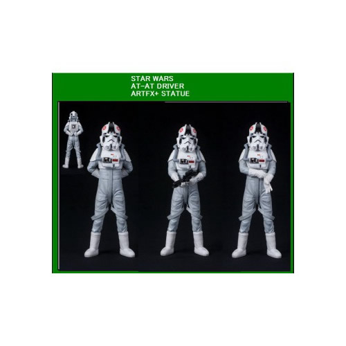 FIGURA STAR WARS PILOTO AT AT  18 CM