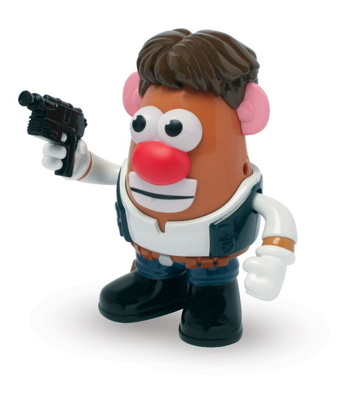 FIGURA STAR WARS MR POTATO HAN SOLO 17 CM