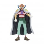 FIGURA ONE PIECE ARTICULABLE BUGGY EL PAYASO SHICHIBUKAI 14 CM