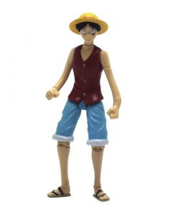 FIGURA ONE PIECE ARTICULABLE MONKEY D. LUFFY 12 CM