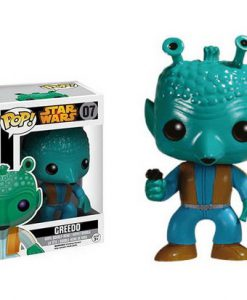 FIGURA FUNKO POP STAR WARS CAZARECOMPENSAS GREEDO EDICIÓN BLACK BOX