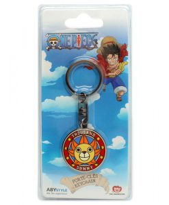LLAVERO ONE PIECE LOGO BARCO THOUSAND SUNNY PVC