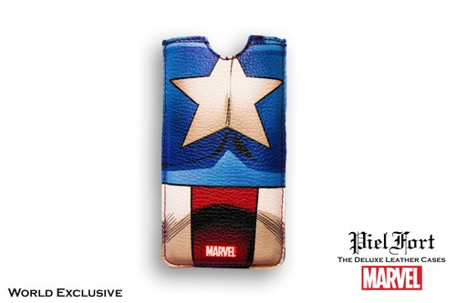 FUNDA MARVEL CAPITÁN AMÉRICA TRAJE RETRO IPHONE 4