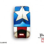 FUNDA CAPITÁN AMÉRICA BUSTO MARVEL IPHONE 4 BORDES REDONDEADOS