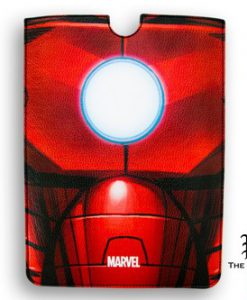 FUNDA IRON MAN BUSTO MARVEL IPAD 2 Y 3