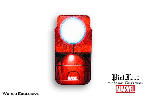 FUNDA IRON MAN BUSTO MARVEL AVENGERS IPHONE 4