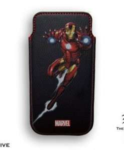 FUNDA IRON MAN LUCHANDO MARVEL IPHONE 5 BORDES REDONDEADOS