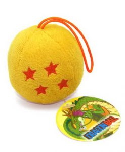 PELUCHE DRAGON BALL Z BOLA DE DRAGON DE 4 ESTRELLAS