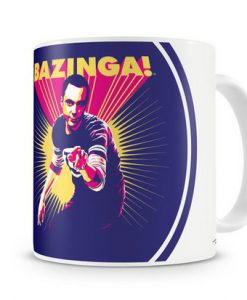 TAZA THE BIG BANG THEORY SHELDON COOPER  BAZINGA