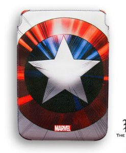 FUNDA CAPITÁN AMÉRICA MARVEL ESCUDO MARVEL IPAD MINI