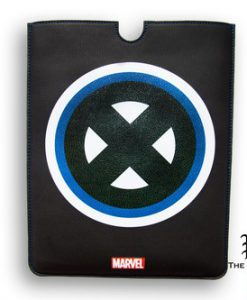 FUNDA IPAD AIR X-MEN MARVEL LOGO CLÁSICO BORDE CUADRADO