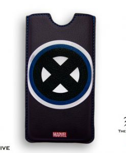 FUNDA IPHONE 5 X-MEN MARVEL LOGO CLÁSICO BORDE CUADRADO
