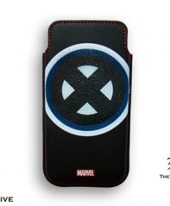 FUNDA IPHONE 4 X-MEN MARVEL LOGO CLÁSICO BORDE REDONDO