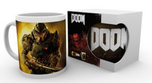 TAZA DOOM SPACE MARINE