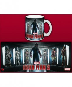 TAZA MARVEL IRON MAN TONY STARK