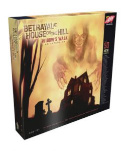 JUEGO DE MESA BETRAYAL AT HOUSE ON THE HILL EXPANSIÓN WIDOW VERSIÓN EN INGLES