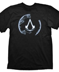 CAMISETA ASSASSINS CREED 4 ASSASSINS ORDER LOGO