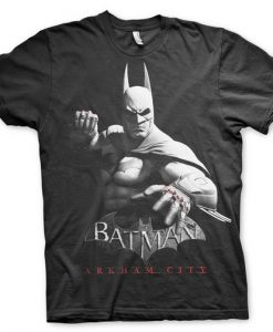 CAMISETA BATMAN ARKHAM CITY