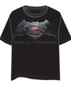 CAMISETA BATMAN VS SUPERMAN LOGO