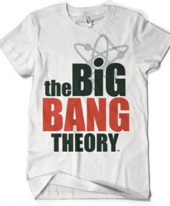 CAMISETA BIG BANG THEORY LOGO SERIE
