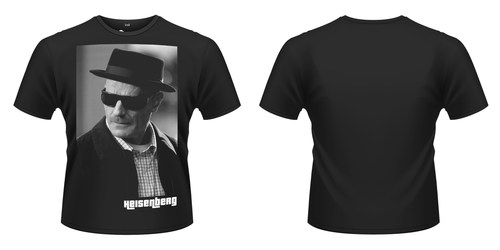 CAMISETA BREAKING BAD HEISENBERG WALTER WHITE