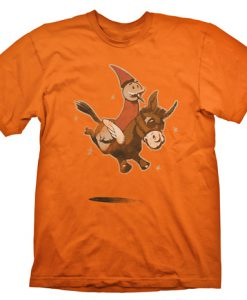 CAMISETA DOTA 2 WIZARD & DONKEY | ANIMAL COURIER