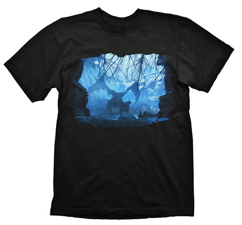 CAMISETA DRAGON AGE NIEBLA