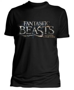 CAMISETA HARRY POTTER ANIMALES FANTÁSTICOS Y DÓNDE ENCONTRARLOS LOGO