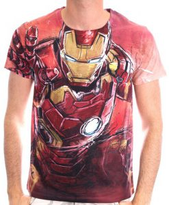 CAMISETA IRON MAN MARVEL CÓMICS