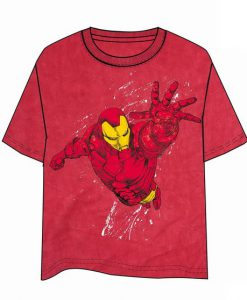 CAMISETA IRON MAN VUELO MARVEL CÓMICS