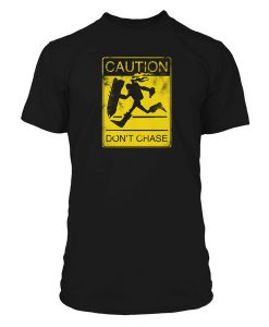CAMISETA LEAGUE OF LEGENDS LOL SINGED CAUTION DON`T CHASE