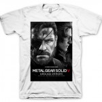 CAMISETA METAL GEAR SOLID 5 GROUND ZEROES NAKED SNAKE