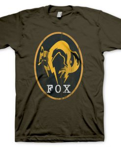 CAMISETA METAL GEAR SOLID 5 FOX
