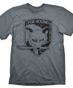 CAMISETA METAL GEAR SOLID FOX HOUND