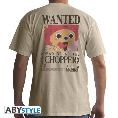 CAMISETA ONE PIECE WANTED TONY TONY CHOPPER