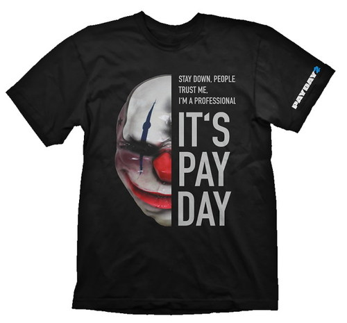 CAMISETA PAYDAY 2 MÁSCARA CHAINS