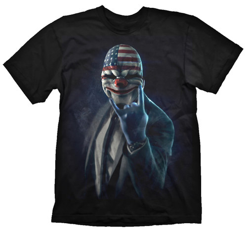 CAMISETA PAYDAY 2 ROCK ON