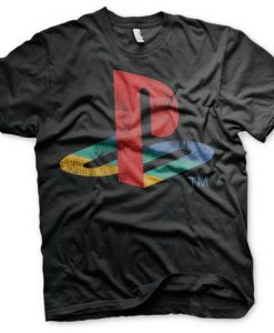 CAMISETA PLAYSTATION LOGO