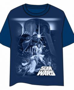 CAMISETA STAR WARS DARTH VADER | LUKE SKYWALKER Y PRINCESA LEIA UNA NUEVA ESPERANZA