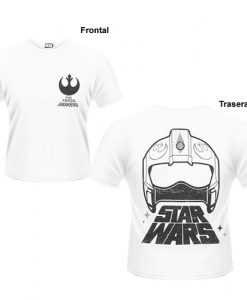 CAMISETA STAR WARS ALIANZA REBELDE CASCO