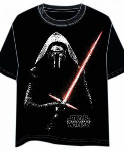 CAMISETA STAR WARS KYLO REN SABLE LASER