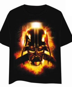 CAMISETA STAR WARS DARTH VADER EN FUEGO