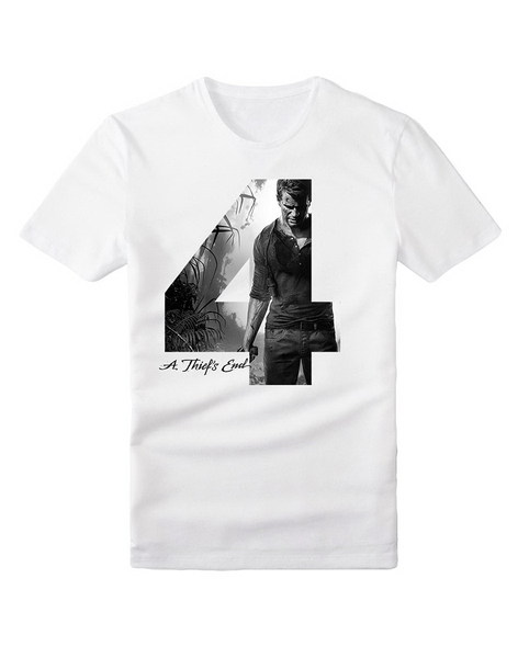 CAMISETA UNCHARTED 4 NATHAN DRAKE