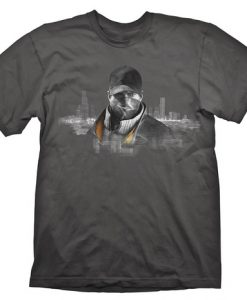 CAMISETA WATCH DOGS AIDEN PEARCE FOX CHICAGO