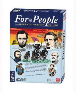 JUEGO DE MESA FOR THE PEOPLE: LA GUERRA DE SECESION 1861-1865