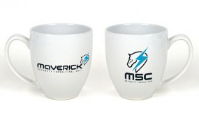 TAZA METAL GEAR SOLID RISING MSC MAVERICK SECURITY CONSULTING CERÁMICA