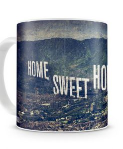 TAZA NARCOS HOME SWEET HOME MEDILLIN CERÁMICA