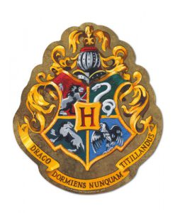ALFOMBRILLA RATÓN HARRY POTTER HOGWARTS LOGO